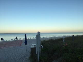 The sun is rising, The Ritz Carlton, Naples, FL