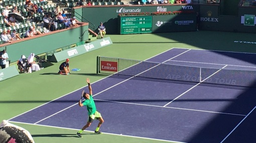 Mens singles, BNP Paribas Open, Indian Wells, CA