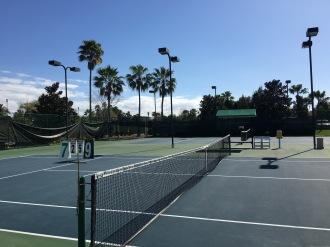 Tennis courts, Ritz Carlton, Grande Lakes, FL