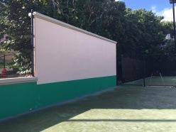 Tennis Court, back board, The Ritz Carlton, St. Thomas, VI