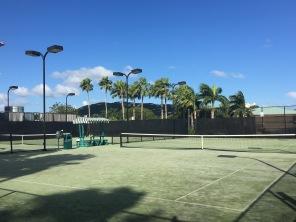 Tennis Courts, The Ritz Carlton, St. Thomas, VI