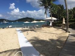 the beach at The Ritz-Carlton St. Thomas