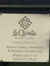 La Quinta Resort, Indian Wells, A