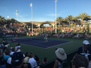 Ladies doubles, BNP Paribas Open, Indian Wells, CA