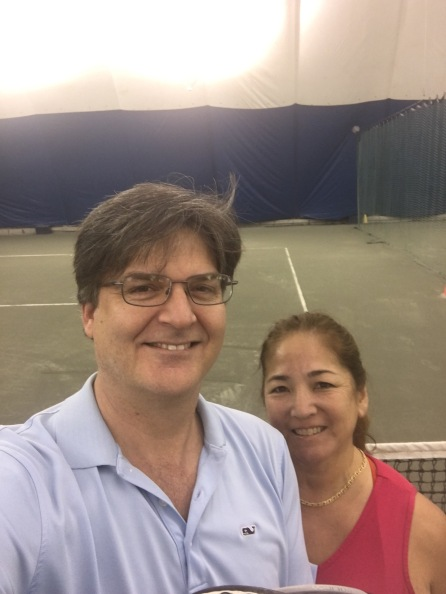 Go time, tennis courts, McLean Sports and Health Club, Tysons, VA