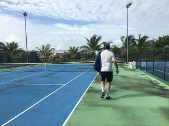 Tennis after the big rain! Majestic Mirage Punta Cana, Dominican Republic