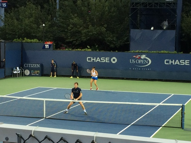 Mixed doubles at the US OPEN