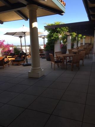 7th floor roof top bar, Hotel Valencia, Santana Row, Santa Clara, CA