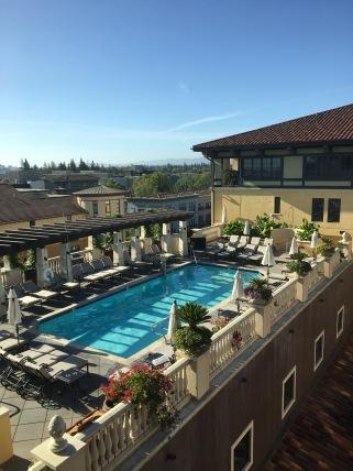 Hotel Valencia, Santana Row, Santa Clara, CA The Pool!