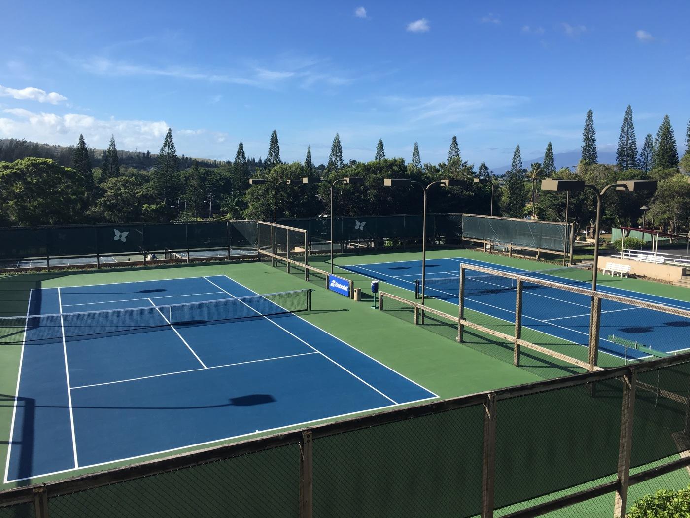 Kapalua Tennis Garden, Kapalua, Maui, Hawaii