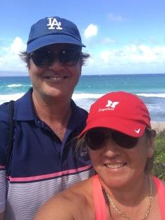 Hiking the ocean trail, The Ritz Carlton Kapalua, Maui, Hawaii