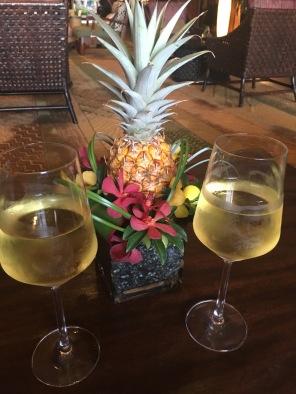 cheers! Sunset ceremony, The Ritz Carlton Kapalua, Maui, Hawaii