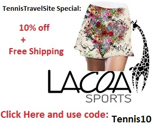 Lacoa sports - use promo code tennis10