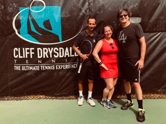 Cliff Drysdale Tennis, Weston Tennis Club, Weston, Fl - tennistravelsite.com
