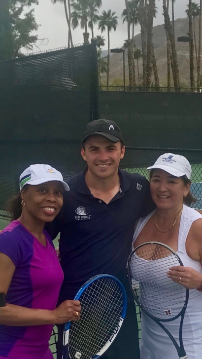 Omni Rancho Las Palma, Cliff Drysdale Tennis, Rancho Mirage, CA - tennistravelsite.com