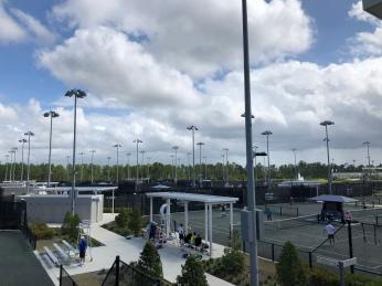 USTA National Tennis Campus, Lake Nona, Orlando, Florida, tennistravelsite.com