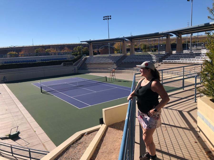 Darling Tennis Center, Las Vegas, Nevada - tennistravelsite.com